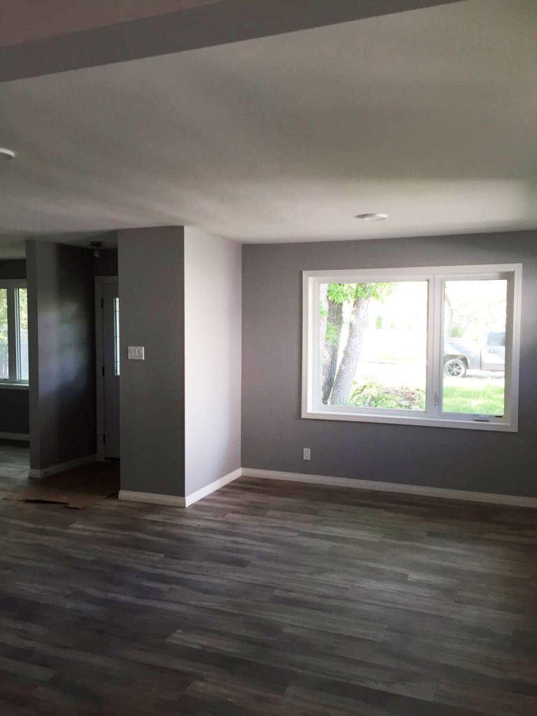Custom floor, in house renovation